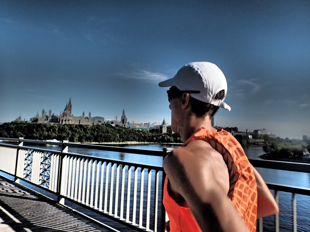 A nice run over the Ottawa River with Parliament in the background